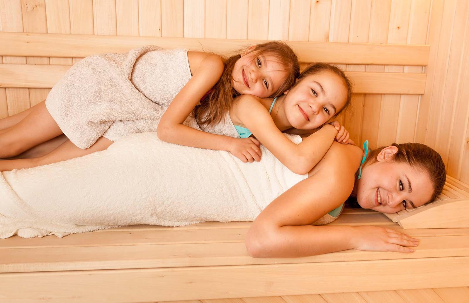 Hoe oud moet je zijn voor de sauna?